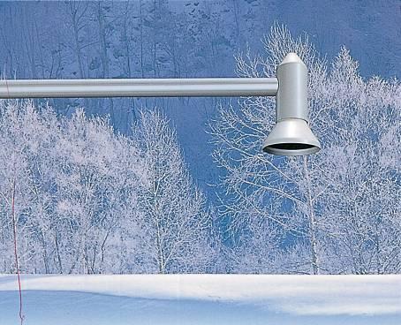 超音波積雪深計